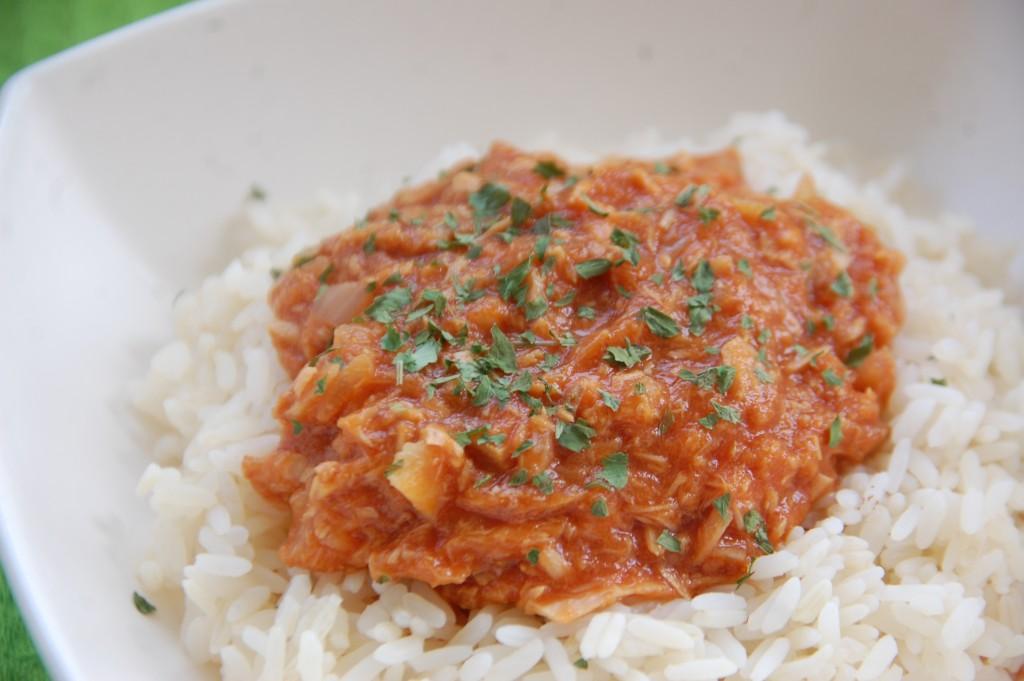 Curry de thon