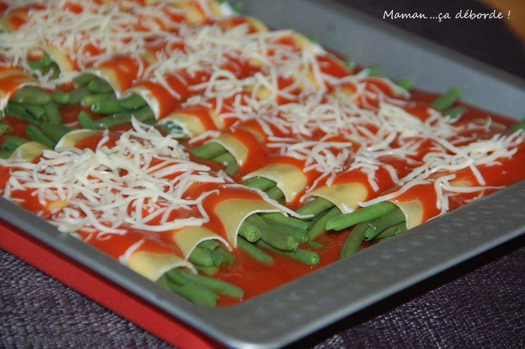 Cannellonis de haricots verts1