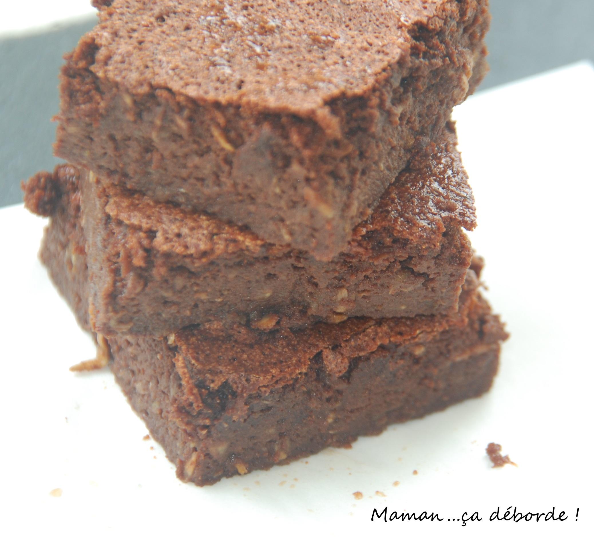 Gateau courgette sucre chocolat