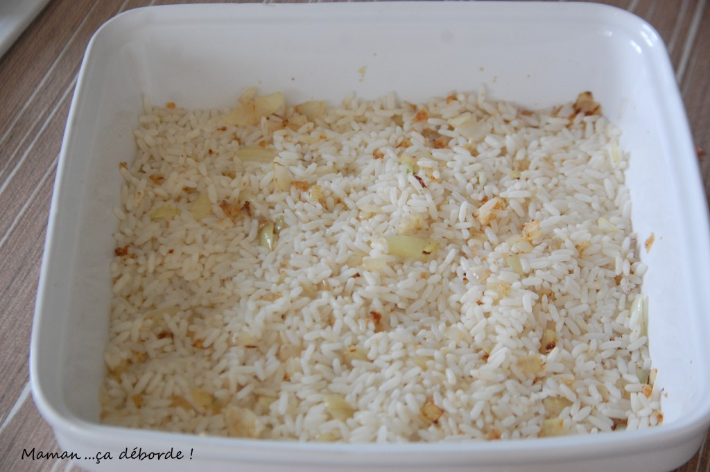 Couche de riz