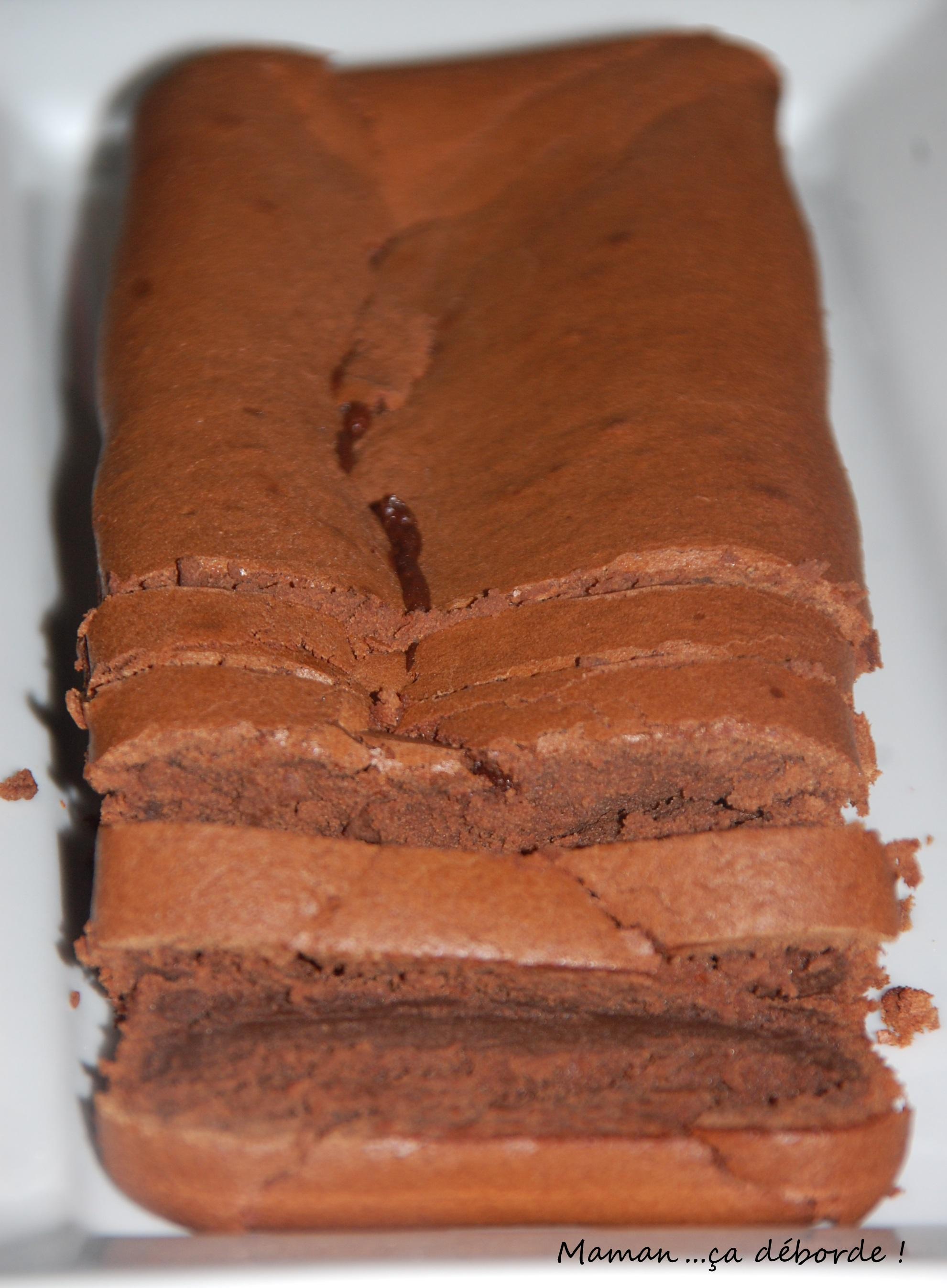 Gateau fondant au chocolat pomme