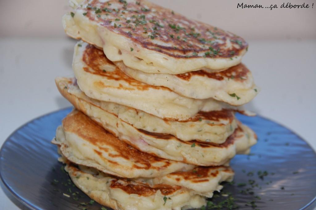 Pancakes salés au lait ribot