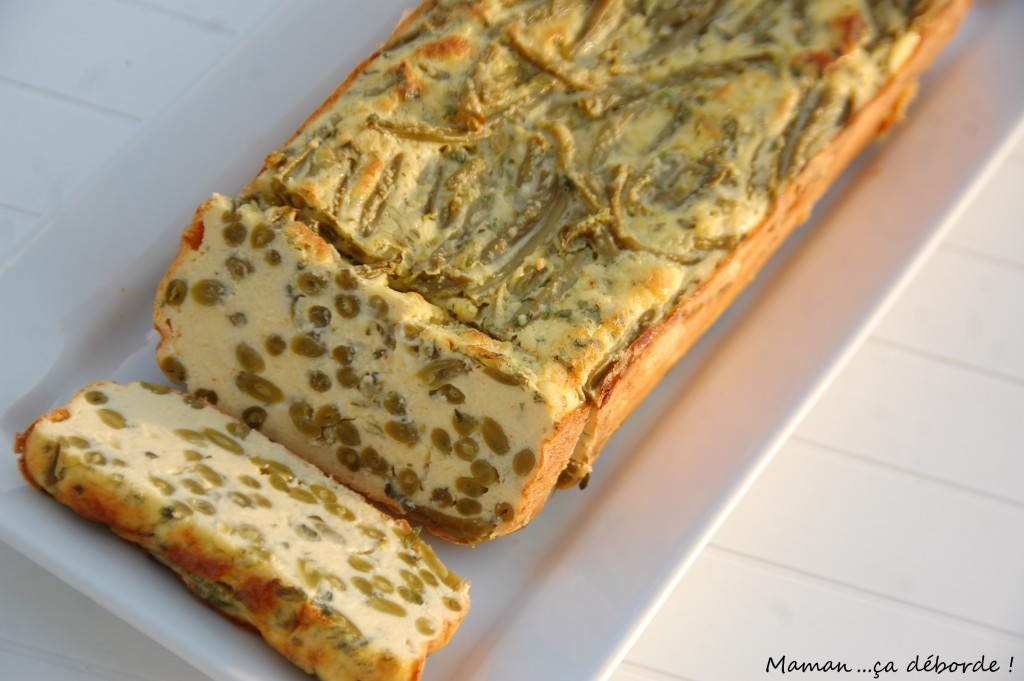 Terrine aux haricots verts