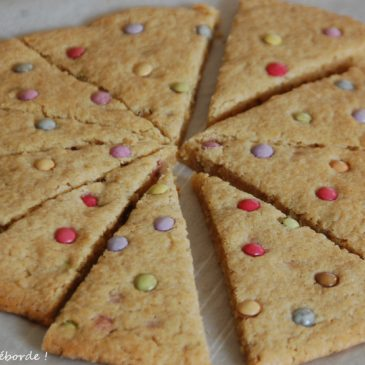 Cookie géant aux smarties