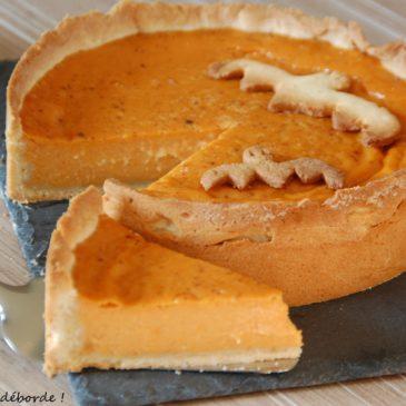 Pumpkin Pie – Tarte à la citrouille
