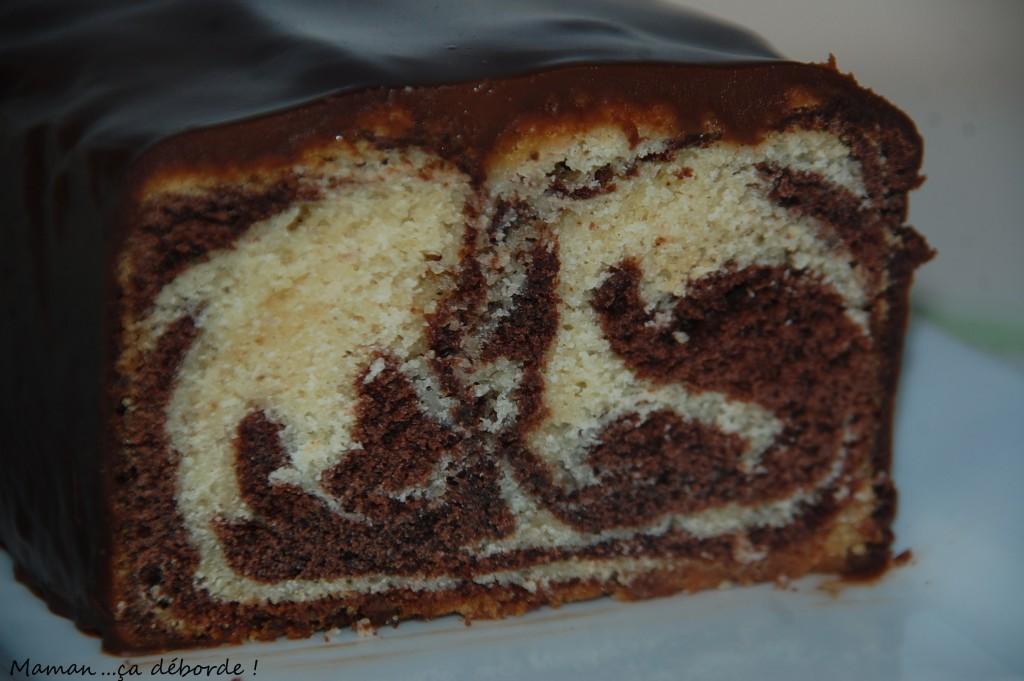 Le cake marbré de François Perret