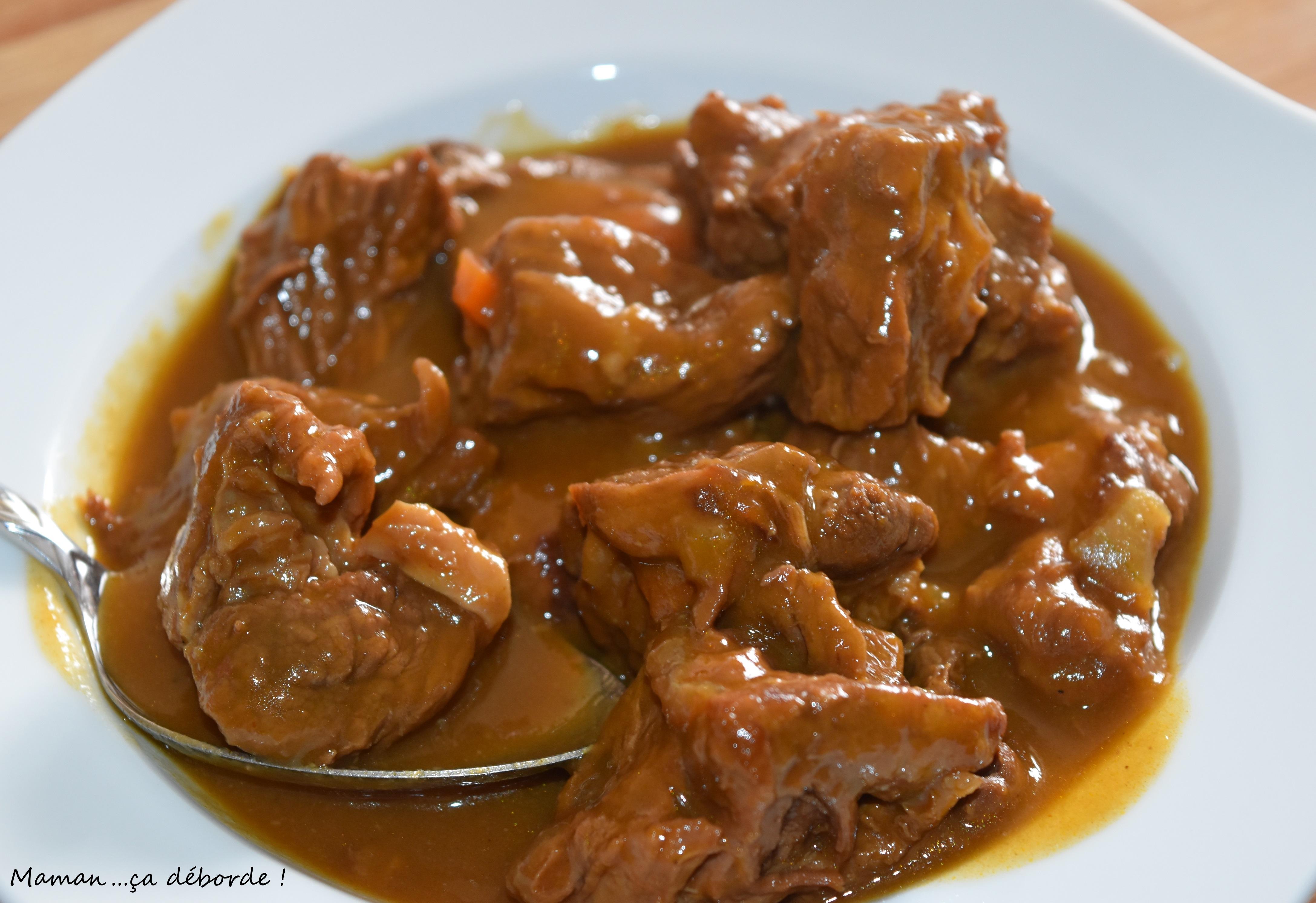 Mijot de boeuf au sirop d 39 rable maman a d borde - Comment cuisiner du jarret de boeuf ...