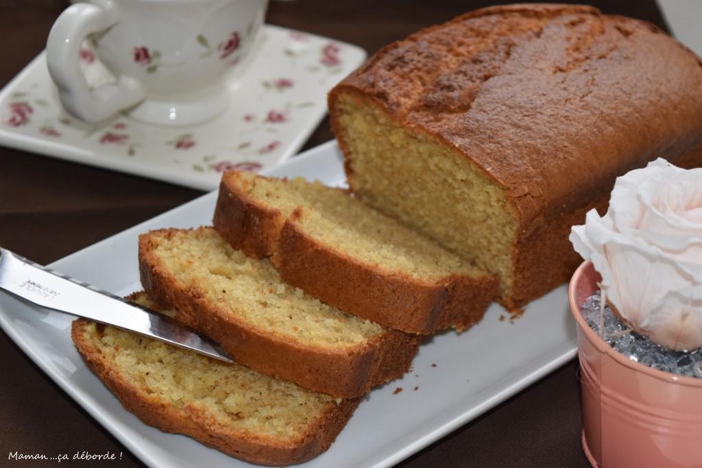 Cake au mascarpone et aux 3 vanilles