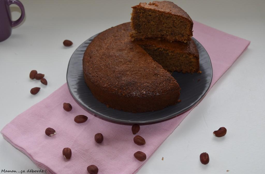 Gâteau aux noisettes et au miel (sans gluten)