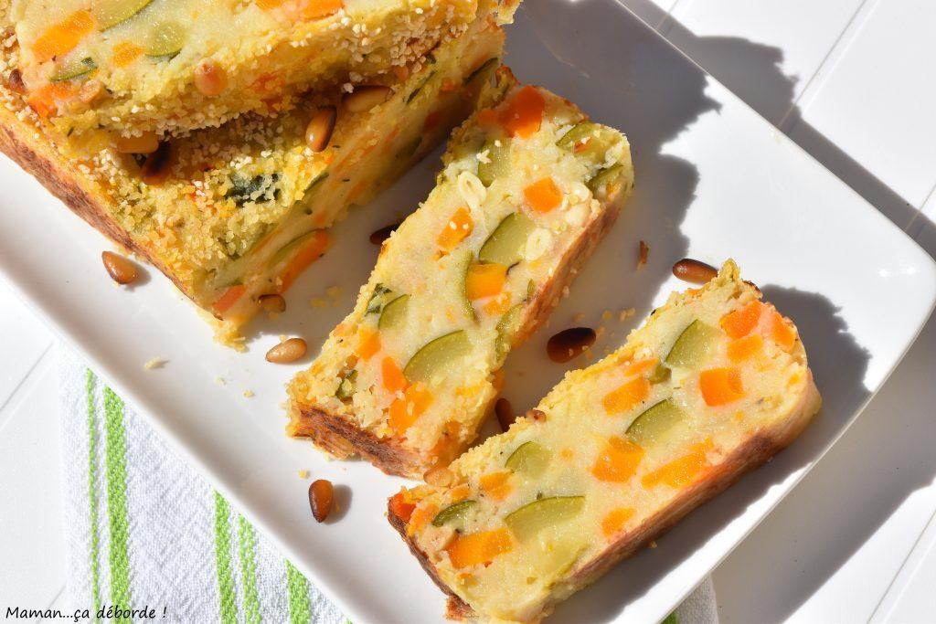 Gâteau de pommes de terre aux légumes
