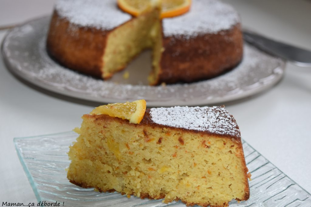 Gâteau à l'orange sans gluten