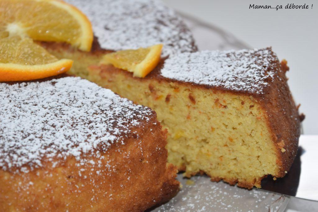 Gâteau à l'orange sans gluten