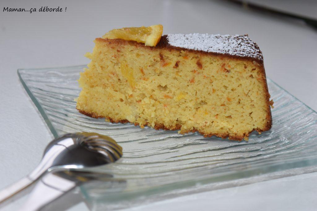 Gâteau à l'orange sans gluten4