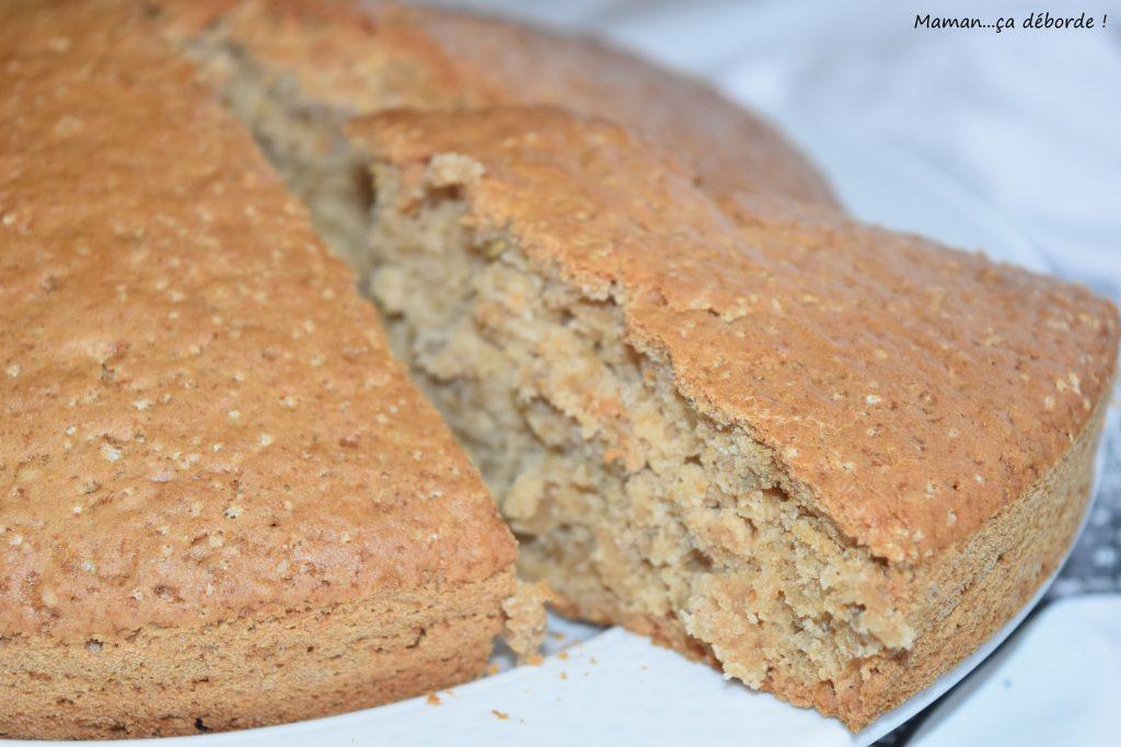 Gâteau sans oeuf sans beurre à la cannelle