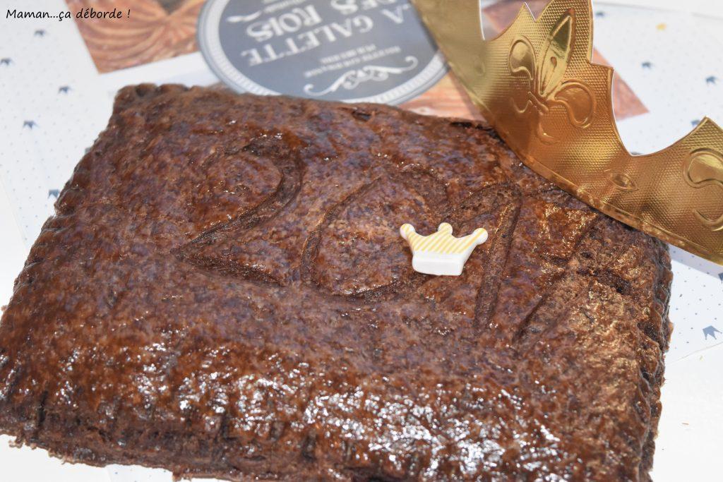 Galette de rois tout chocolat