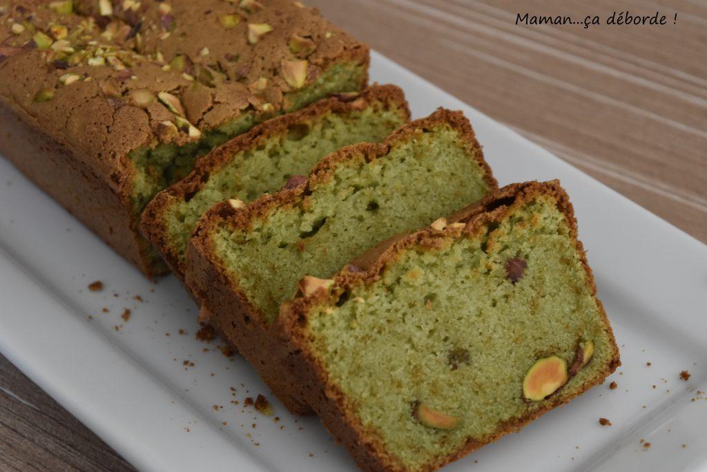 Cake à la pistache sans gluten