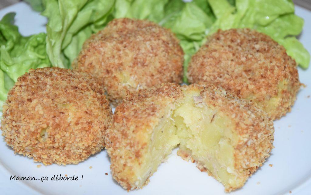 Croquettes de pomme de terre et thon