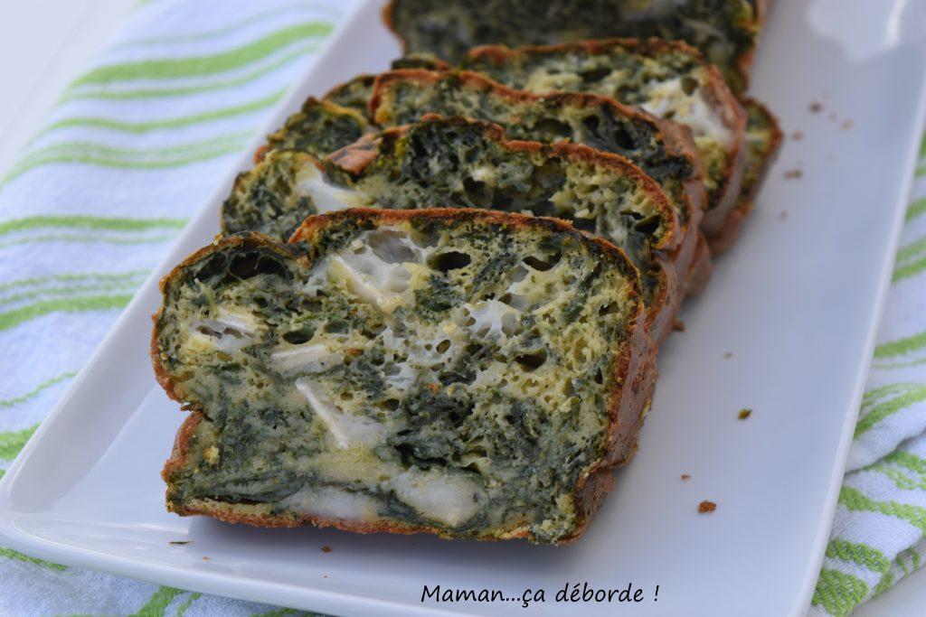 Cake Au Chevre Epinard