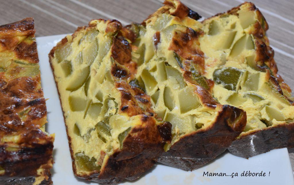 Terrine parmesane aux courgettes