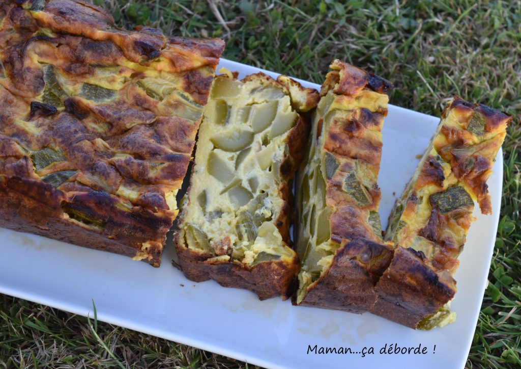 terrine parmesane aux courgettes maman a d borde. Black Bedroom Furniture Sets. Home Design Ideas