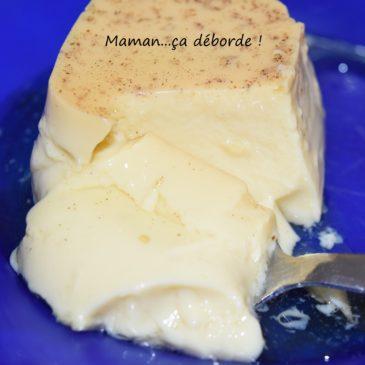 Crème aux oeufs façon flamby