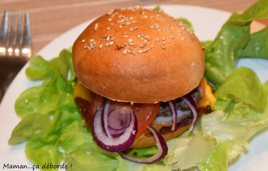 Hamburger sauce BBQ
