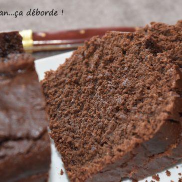 Gâteau au chocolat, amande et sésame