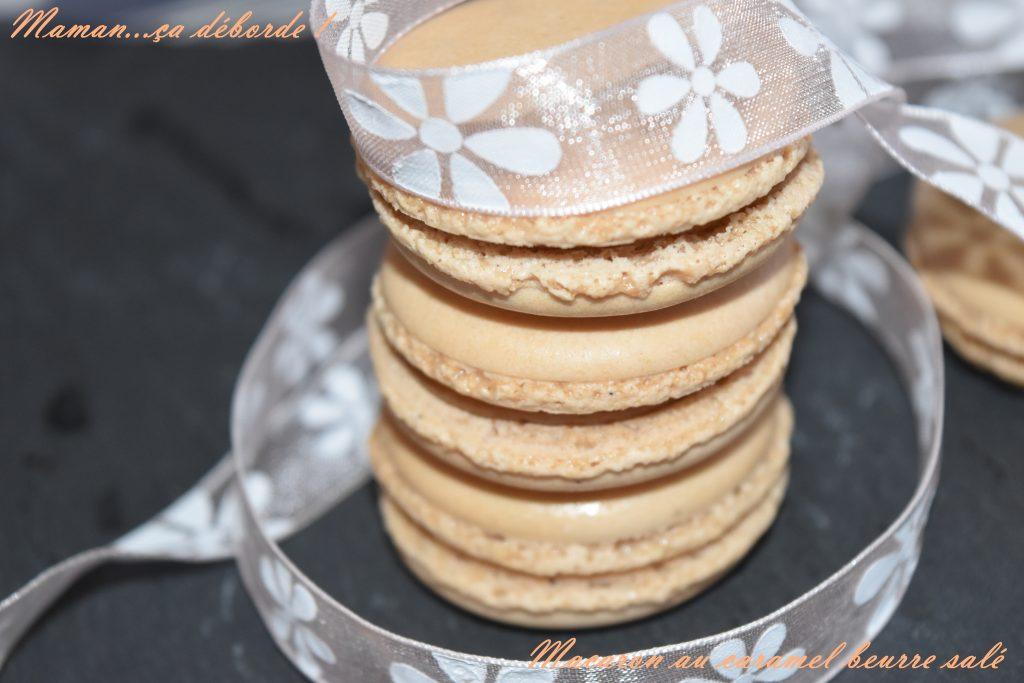 Macaron au caramel beurre salé