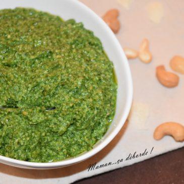 Pesto de chou kalé