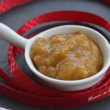 Chutney mangue, pomme et miel